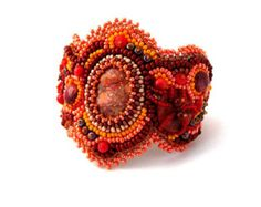 embroidered beaded cuff - Google Search