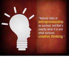 Be an Entrepreneur...