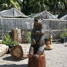 Chainsaw Carved Bear - made in America