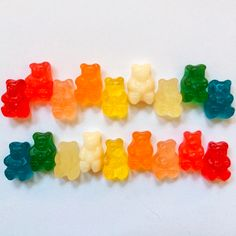 This Rainbow-Filled Instagram Will Lift Your Spirits  #refinery29  http://www.refinery29.com/karen-doolittle-instagram#slide-1  A colorful (and tasty) array of gummies.