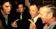 Elvis Presley, Frank Sinatra and Fred Astaire.