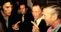 Elvis Presley, Frank Sinatra e Fred Astaire