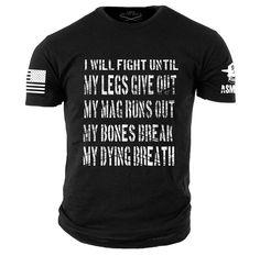 Grunt style Dead Man/'s Hand T-Shirt-Noir
