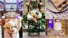 Stunning Glitz and Gold wedding at Worcester Art Museum! Images from Eric Limon Photography