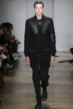 Кожаное пальто мужское (45 фото): с кожаными рукавами, с мехом