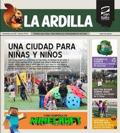 """Periódico """"La Ardilla"""". Noviembre 2015 - Edición N° 001"""