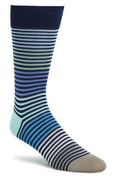 Men's Paul Smith Stripe Socks - Blue