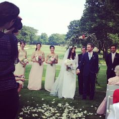 Audra Marie Alexander wore our Stone Fox Bride lace back Polly dress. www.stonefoxbride.com