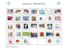 Kids Activity Calendars