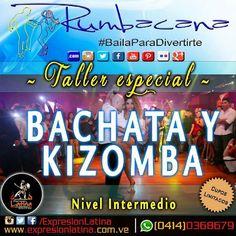 @expresionlatina  Hoy tendremos taller con @omarjaimes8de@rumbacana quien nos regala un espacio en su agenda para un Súper taller de #Bachata y #Kizomba!  #SePrendioLaSemana #GranInicioDeSemana  #salsacasinovenezuela #bachatavenezuela - #regrann
