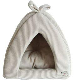 Best Pet Corduroy Tent for Pets, Medium, Beige - http://petproduct.reviewsbrand.com/best-pet-corduroy-tent-for-pets-medium-beige.html