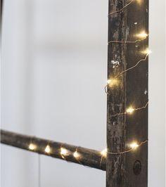 Guirlande lumineuse en cuivre