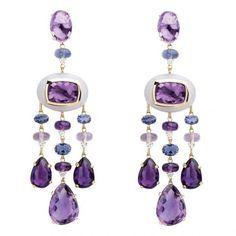 ♥♥ chandaliers in purples