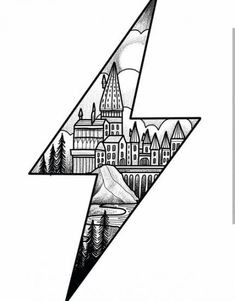 Harry Potter lightening bolt design ready for the new year. Please email if interested. A deposit will secure the drawing.… Harry Potter lightening bolt design ready for the new year. Please email if interested. A deposit will secure the drawing. Harry Potter Tattoos, Arte Do Harry Potter, Harry Potter Drawings, Harry Potter Sketch, Harry Potter Crafts Diy, Harry Potter Wall Art, Harry Potter Tumblr, Harry Potter Quotes, Tattoo Sketches