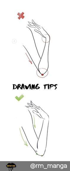 Astuces de dessin pour les mains:  #astuces #dessin #les #Mains #Pour