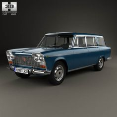 Fiat 2300 Familiare 1963 3d model from humster3d.com. Price: $75