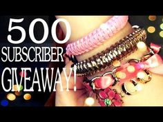 Katrinaosity ♥ 500 Subscriber Giveaway! Spring Bracelet Collection