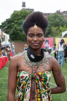 Tyi Jones at AfroPunk