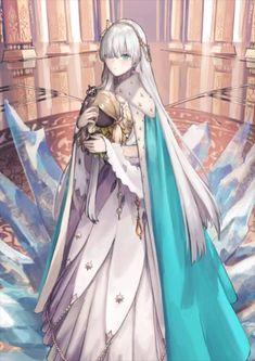 Cosmos in the Lostbelt, this time Caster Class Anastasia Nikolaevna Romanov! Manga Girl, Anime Art Girl, Character Concept, Character Art, Character Design, Lancer Of Black, Fate Anime Series, Beautiful Anime Girl, Anime Outfits