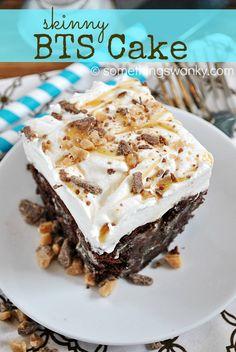 Skinny BTS Cake... YES! I said SKINNY! 195 calories per serving