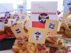 mama's 'n' papa's: pirate birthday party recipes