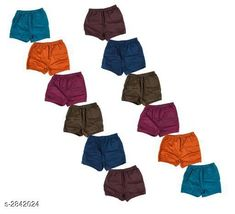 Innerwear Elegant Kid's Innerwear ( Pack Of 12 ) Fabric: Cotton Size: Age Group (0 Months - 3 Months) - 10 in Age Group (3 Months - 6 Months) - 12 in Age Group (6 Months - 9 Months) - 12 in Age Group (9 Months - 12 Months) - 14 in Age Group (12 Months - 18 Months) - 16 in Age Group (18 Months - 24 Months) - 18 in Age Group (2 - 3 Years) - 20 in Age Group (3 - 4 Years) - 22 in Age Group (4 - 5 Years) - 24 in Age Group (5 - 6 Years) - 26 in Age Group (6 - 7 Years) - 28 in Description: It Has 12 Pieces Of Kid's Innerwear's Pattern:  Solid Country of Origin: India Sizes Available: 0-3 Months, 0-6 Months, 3-6 Months, 6-9 Months, 6-12 Months, 9-12 Months, 12-18 Months, 18-24 Months, 0-1 Years, 1-2 Years, 2-3 Years, 3-4 Years, 4-5 Years, 5-6 Years, 6-7 Years   Catalog Rating: ★4.1 (5160)  Catalog Name: Fable Elegant Kid's Innerwear Sets Vol 20 CatalogID_385973 C59-SC1187 Code: 482-2842024-456