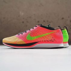 Nike Flyknit Racer Hyper Punch/Volt : Nike's popular Flyknit Racer running  shoe is set to release in this colorful palette of