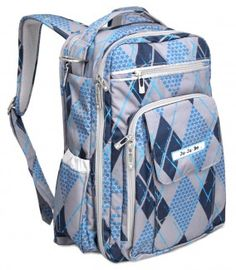 JDB Ju-Ju-Be - Be Right Back Backpack Diaper Bag - Stargyle - designer diaper bags