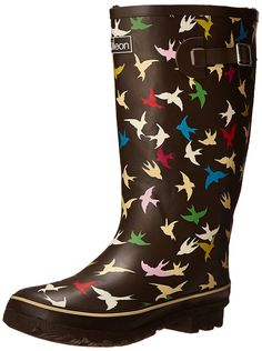 Cute Women's Rain Boots wide calf. These are hard to find, but I did my homework and bought adorable rain boots even though I have thick calves.