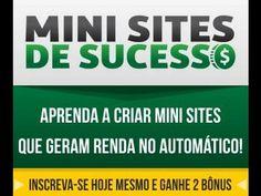 Mini Sites de Sucesso Funciona 1   Confira um novo artigo em http://criaroblog.com/mini-sites-de-sucesso-funciona-1/