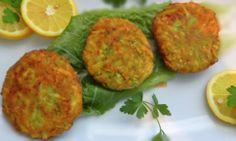 Greek fried zucchini balls(kolokuthokeftedes)
