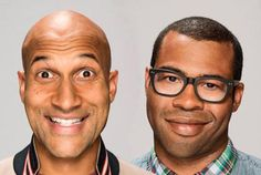 Get to know Comedy Central's golden boys, Keegan-Michael Key and Jordan Peele.  14 Dead Serious Facts About 'Key & Peele' | Mental Floss