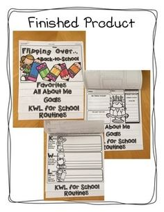 Back to School Flip Book. Flipping over back to school! This flip book is the… Beginning Of The School Year, First Day Of School, Back To School, School Stuff, Teaching Activities, Classroom Activities, Teaching Ideas, Teaching Resources, Classroom Ideas