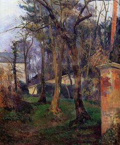 Paul Gauguin, Abandoned Garden in Rouen, 1884