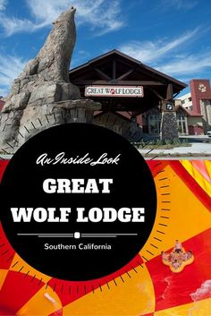 Great Wolf Lodge Southern California's first indoor water park just opened its doors. Great Wolf Lodge California is located in Garden Grove (near Anaheim) in Orange County. Check out what this amazing family resort has to offer. Hint... its much more tha Great Wolf Lodge California, California Travel, Orange California, Southern California, Family Resorts, Family Destinations, Family Vacations, Disneyland Trip, Vacation Spots