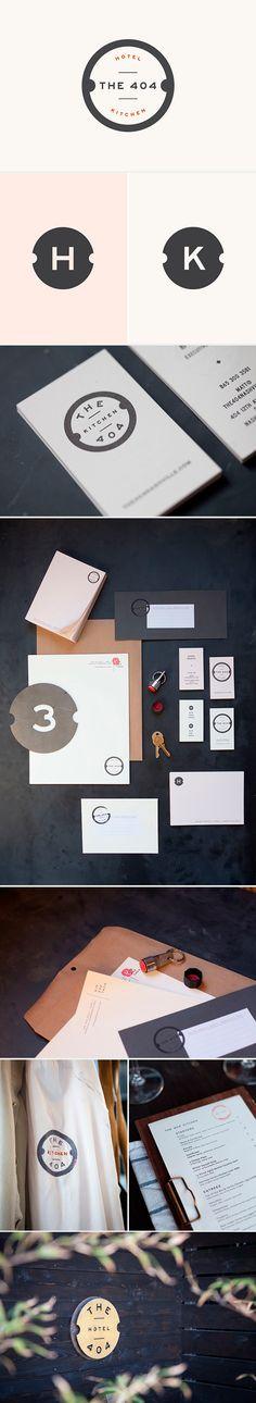 identity / The 404 Hotel & Kitchen