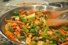 Learn how to make Honey Ginger Tofu and Veggie Stir Fry. Just in time for bikini season!