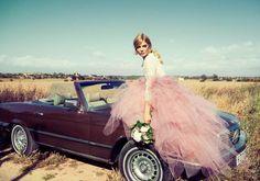El rosa es el nuevo blanco para novias