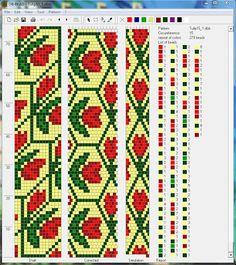 Узоры для вязаных жгутиков-шнуриков 3   biser.info - всё о бисере и бисерном творчестве