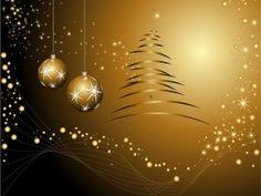 3D Christmas Wallpaper | Free Wallpapers: Golden Christmas ...