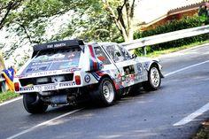Lancia Delta S4 Gruppe B Rallyeauto