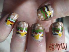 @Whitney Jordan burger nails....