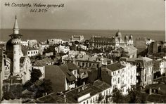 Constanţa. 1930. Bucharest Romania, Old Photography, Black Sea, Paris Skyline, Cities, Ottoman, Coast, Memories, Country