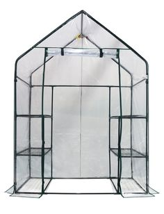 Any garden can accommodate this Ogrow Mini Walk-In Greenhouse with a total of 6-12 shelves of planting area! Some of the exclusive features it has to offer includes heavy duty sturdy steel frame. Stro                                                                                                                                                      More