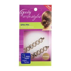Goody® Simple Styles™ Spin Pins 2ct