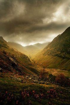 Glen Coe. Scotland - I remember being here. Lovely.