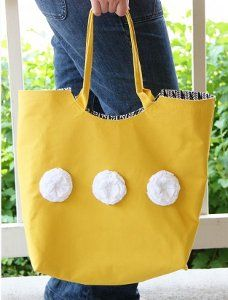 Large Reliable Rounded Tote Bag   FaveQuilts.com