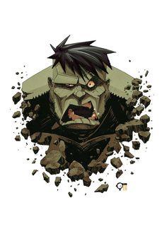 #Hulk #Fan #Art. (Busto Hulk) By: Zblack1. (THE * 5 * STÅR * ÅWARD * OF: * AW YEAH, IT'S MAJOR ÅWESOMENESS!!!™)[THANK Ü 4 PINNING!!!<·><]<©>ÅÅÅ+(OB4E)