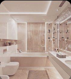 Modern Luxury Bathroom, Bathroom Design Luxury, Luxury Bathrooms, Minimalist Bathroom, Bad Inspiration, Bathroom Inspiration, Dream Home Design, Home Interior Design, Interior Architecture
