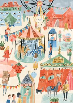 Oh my home fair by Bodil Jane (contemporary), Dutch (folioart)